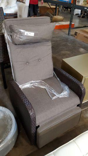Outdoor wicker reclining chair for Sale in Phoenix, AZ
