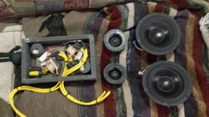 """Morell md27 tweeters.7"""" vifa woofers.24db Butterworth crossovers.very high end components for Sale in Sioux Falls, SD"""