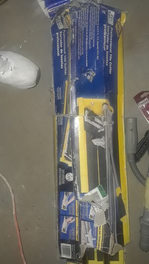 Professional tile cutter 21 in for Sale in Indianapolis, IN