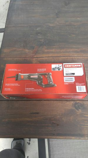 Craftsman 19.2 volt reciprocating saw for Sale in Dearborn, MI