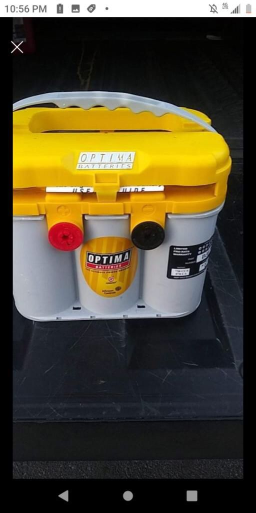 OPTIMA BATTERY PERFECT FOR AUDIO SYSTEM AND LEDS LIGHTS GEL AGM DEEP CYCLE !!!!NEW LOTE AVAILABLE!!!!