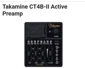 Takamine CT4-BII Preamp/ Tuner for Sale in Austin, TX
