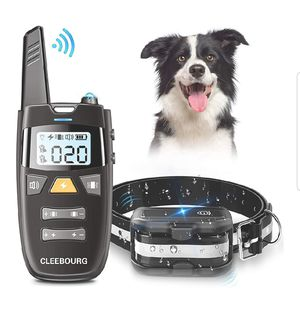 Dog Shock Collar, Remote Dog Training Collar with 3 Correction Remote Training Modes, Vibration, Shock, Beep for Sale in Walpole, MA