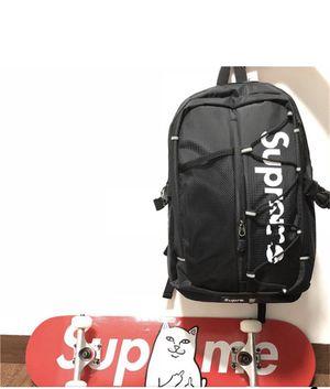 Backpack black supreme for Sale in Sunnyvale, CA