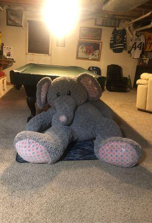 Giant Fuzzy Elephant for Sale in Canton, MI