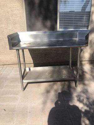 Heavy duty stainless steel table for Sale in Phoenix, AZ
