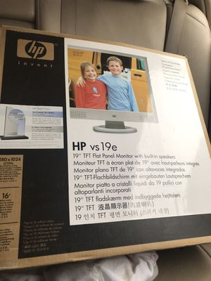 Hp monitor for Sale in Jackson, TN
