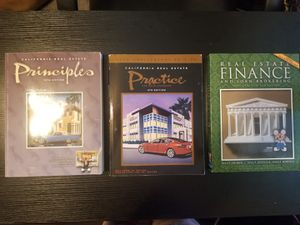 CA Real Estate Books (3) for Sale in Upland, CA