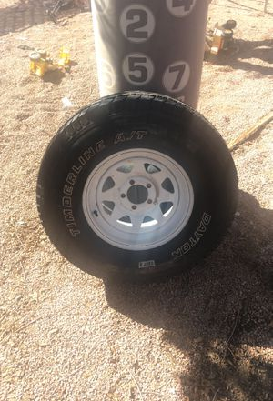 Tire rim Jeep for Sale in Fort McDowell, AZ