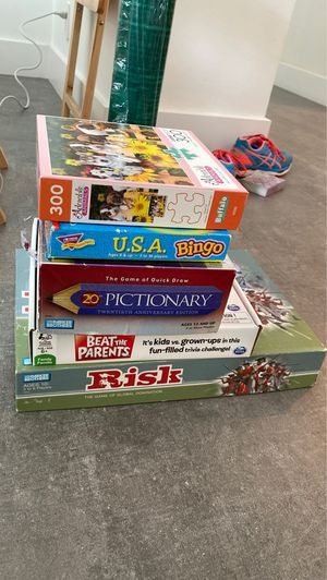 Board Games sold separately for Sale in Miami, FL