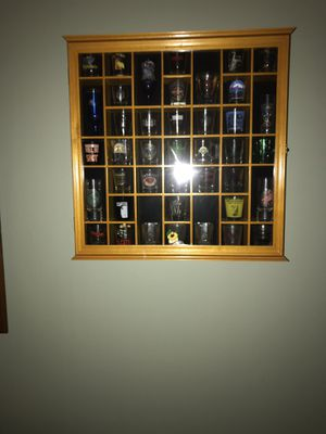Shot glass collection for somebody with a man cave for Sale in Southampton Township, NJ