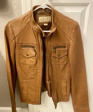 Michael Kors - Leather Women's Moto Jacket - Size Small for Sale in Scottsdale, AZ
