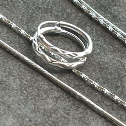NEW Sterling silver jewelry bundle for Sale in Fort Lauderdale,  FL