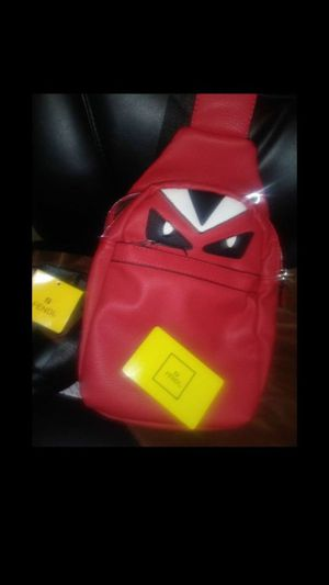 Men's Red Fendi Bag for Sale in East Point, GA