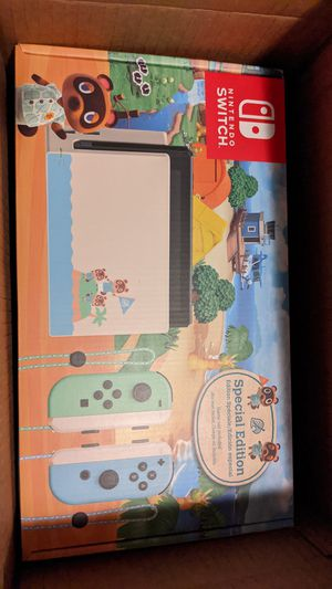 Nintendo switch animal crossing edition for Sale in Ontario, CA