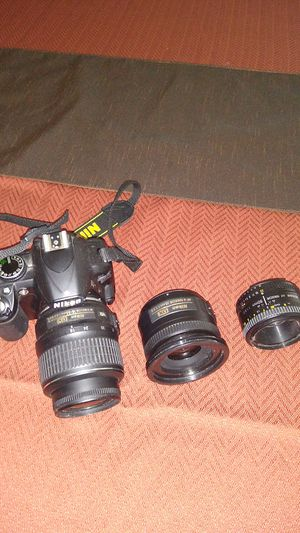 Nikon Camera with lenses for Sale in Decatur, GA