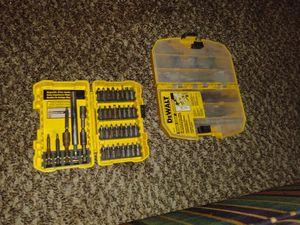 Dewalt drill bits for Sale in Wichita, KS