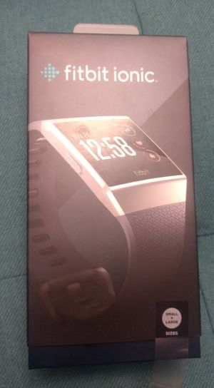 Fitbit Ionic Smart Watch Fitness Tracker for Sale in Richmond, VA