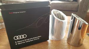 2 sports tailpipe trims Audi & Volkswagen for Sale in Elizabeth, NJ