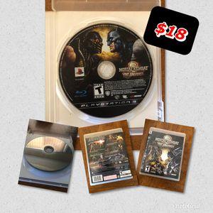 Mortal Kombat VS DH Universe PS3 for Sale in Phoenix, AZ