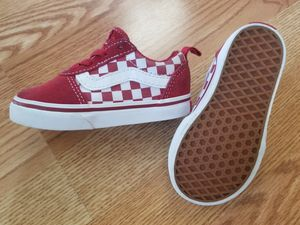 Vans Checkerboard size 6c Kid's for Sale in Mint Hill, NC