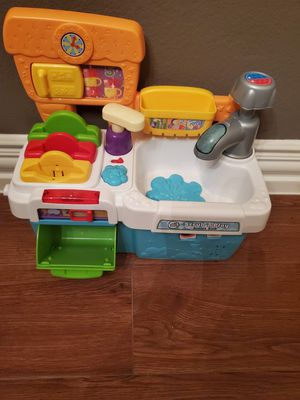 Kids toy sink with learning sound for Sale in Austin, TX