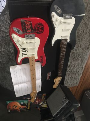 Harmony electric guitar & squier electric guitar for Sale in Temecula, CA