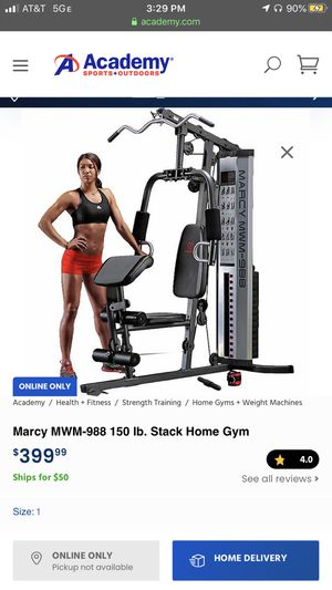Marcy home gym for Sale in Porter, TX