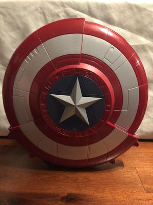 Marvel Avengers Captain America shield and nerf toy for Sale in Glendale, AZ