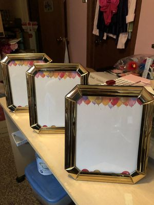 3 Picture Frames Ready For Wedding Or Party. for Sale in Cheyenne, WY