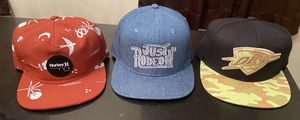 THREE BASEBALL HATS - $20 EACH for Sale in Lindale, TX