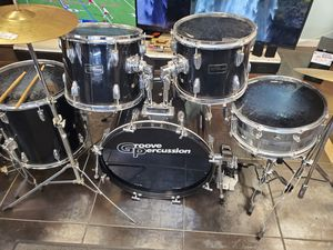 Groove percussion drum set for Sale in Lombard, IL