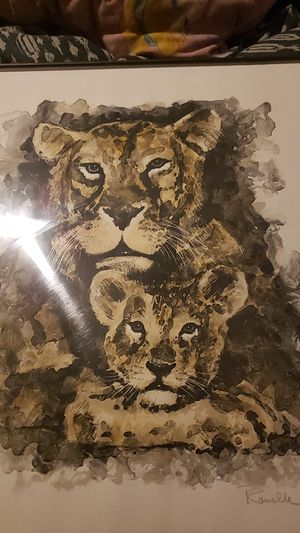 Lion and cub for Sale in Wyoming, MI