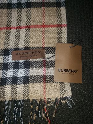 Mens Burberry Scarf for Sale in Fresno, CA
