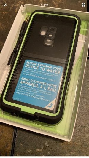 Samsung galaxy S9 Plus Life Proof Case Brand New for Sale in Seattle, WA