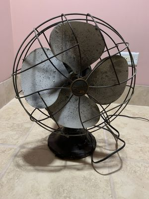 "Antique/vintage Emersons Fan working 12"" 3 speeds for Sale in Des Plaines, IL"