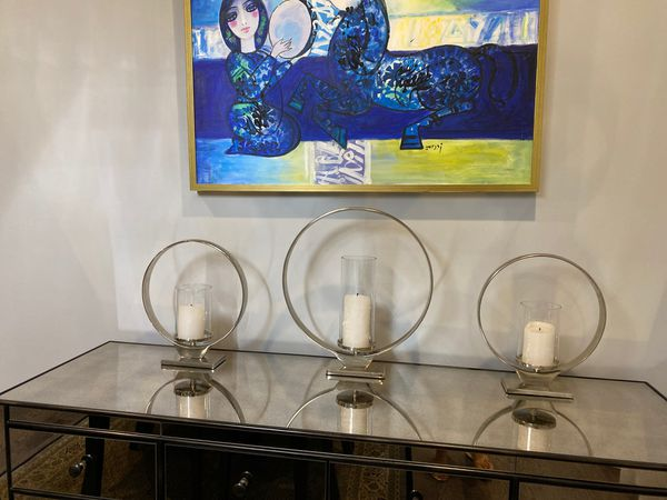 Z Gallery candle holders
