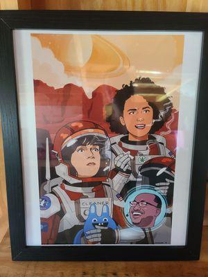 Framed Art Print for Sale in Palmyra, VA