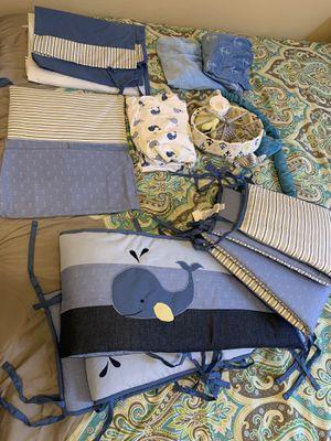 10 piece - crib bedding set for Sale in Murfreesboro, TN