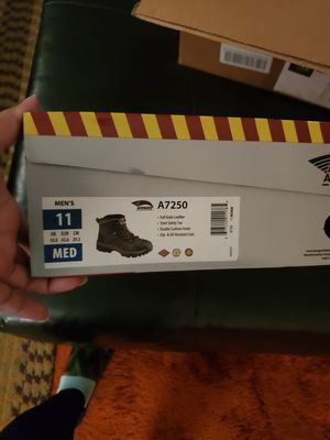 Steel toe work boots New 1 pair for 45 or 2 pair 90$ for Sale in Cleveland, OH