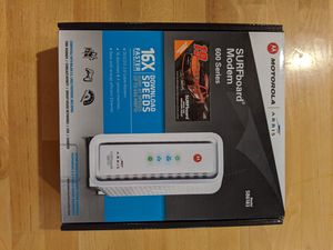 DOCSIS 3.0 Cable Modem - Arris SB6183 for Sale in San Diego, CA