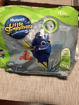 Huggies little swimmers size 3 for Sale in Tulare, CA