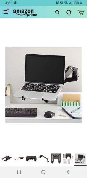 Laptop Stand arm tray for Sale in Clovis, CA