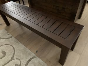Gorgeous farmhouse rustic real wood large bench for Sale in Peoria, AZ