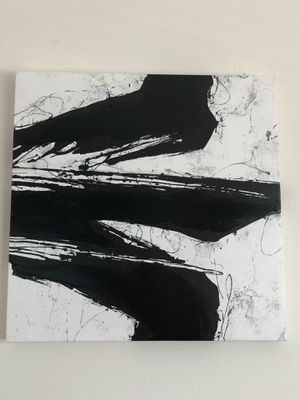 Black and White Painting for Sale in Tampa, FL