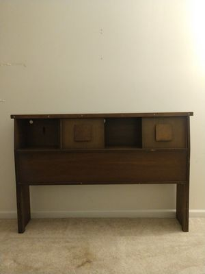 Headboard With Shelf and Storage Areas for Sale in Gardner, IL
