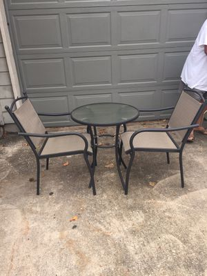 Porch table and chairs for Sale in Houston, TX