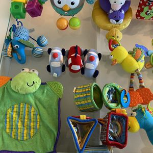 Baby Toy Lot And Stroller Cup Holder for Sale in Kissimmee, FL