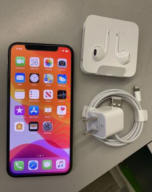 iPhone X 256gigs for Sale in Houston, TX