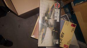 Spitfire MkV plastic model kit for Sale for sale  El Paso, TX